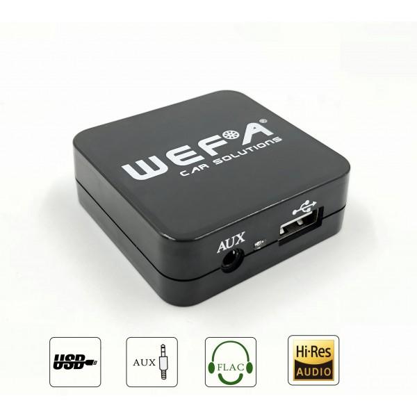 WEFA Toyota USB/AUX skaitmeninis muzikos priedėlis
