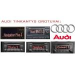 Audi skaitmeninis muzikos priedėlis