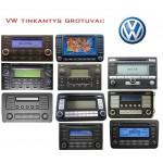 VW Bluetooth skaitmeninis muzikos priedėlis